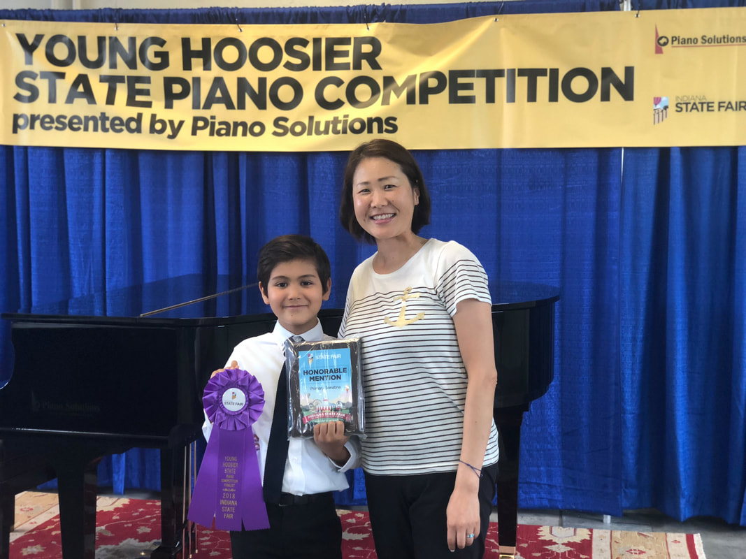 Yasseen's first competition at the Indiana State Fair ending in the 4th place with an honorable mention