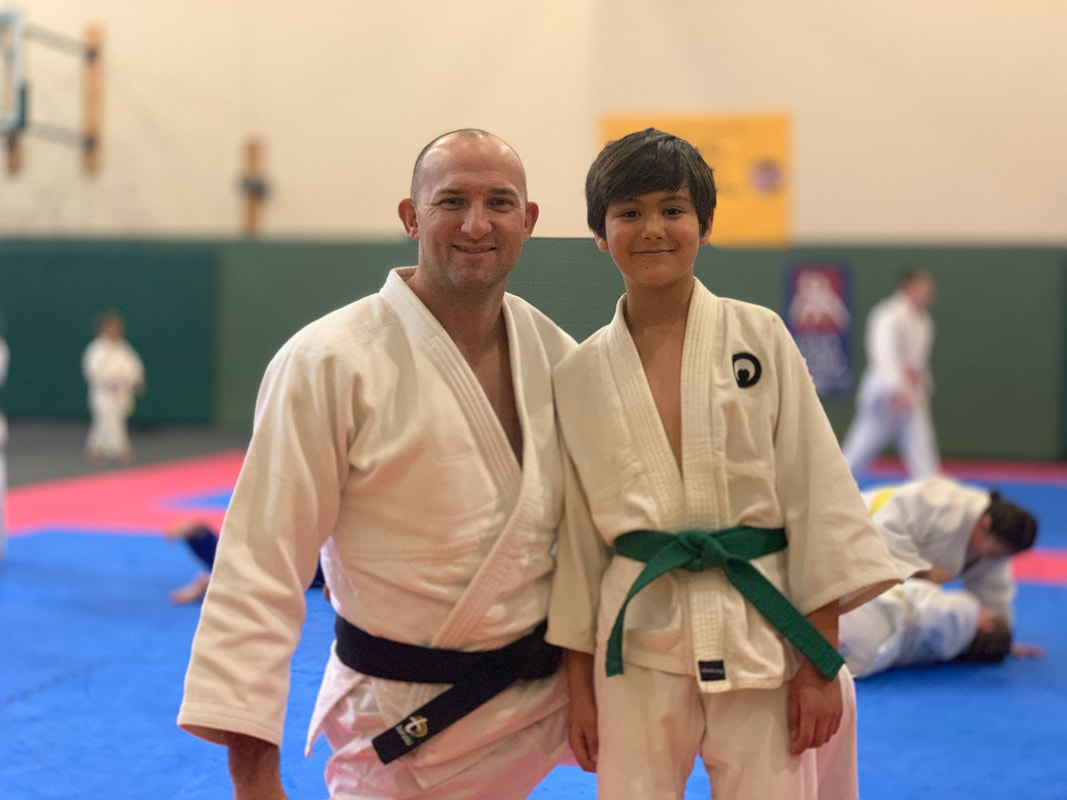 Yasseen with the 4x Judo Olympian and World Bronze Medalist Brian Olson