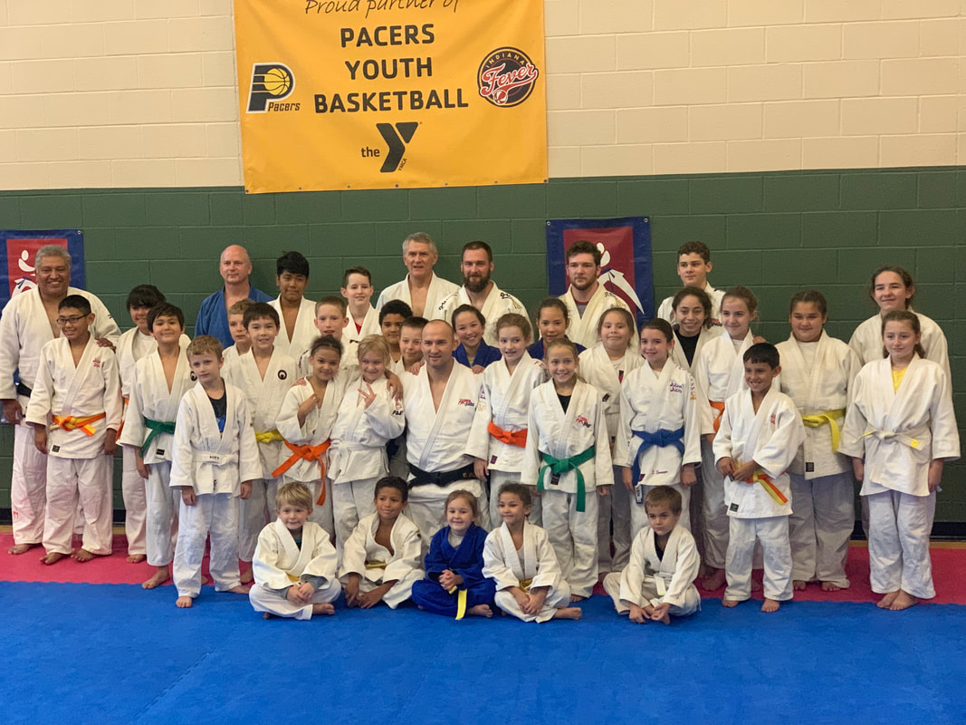 Judo Clinic in Indianapolis, IN with Brian Olson